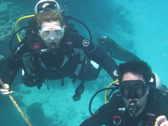 Coraya Divers: Me and my wife