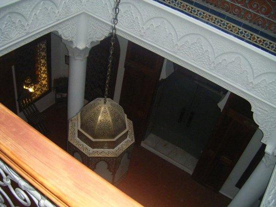Blanco Riad Hotel & Restaurant : patio interior