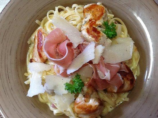 Al Forno: Chicken Carbonara