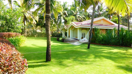 Taj Exotica Resort & Spa Goa : vue d'une villa