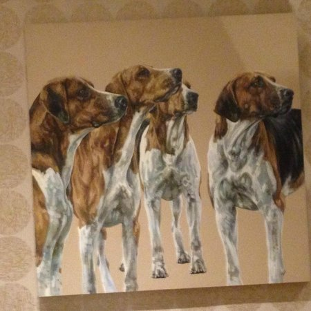 Rudding Park Hotel: Beautiful paintings