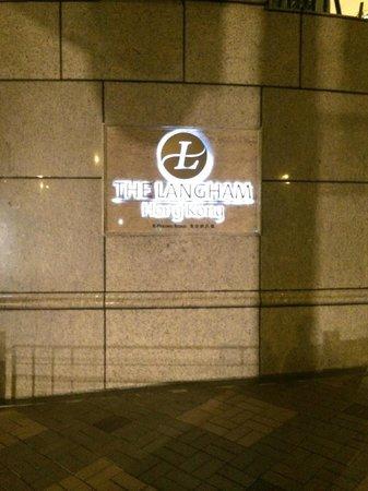 The Langham, Hong Kong : LOGO
