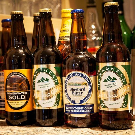 The Grasmere Hotel Restaurant: Local ales