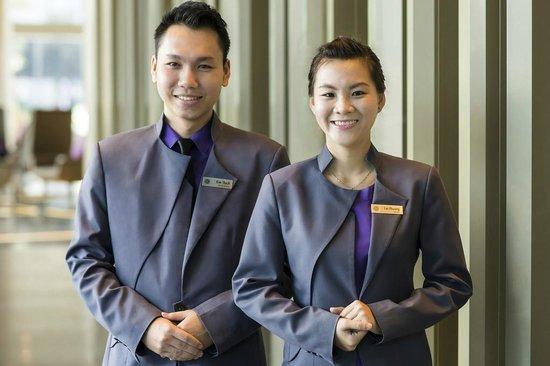 Pullman Saigon Centre : Welcomer