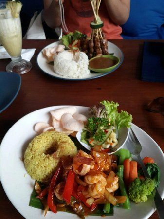 Lucky Day: Our food which was divine!!