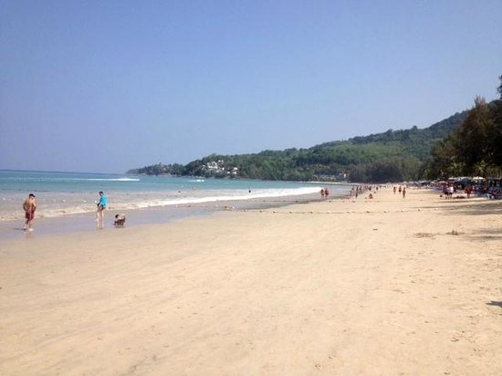Kamala Beach: Пляж (март 2014)