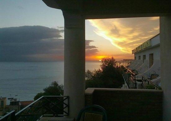 Villa Bianca Resort: Вид на море с балкона