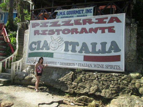 Ciao Italia : outside the restaurant