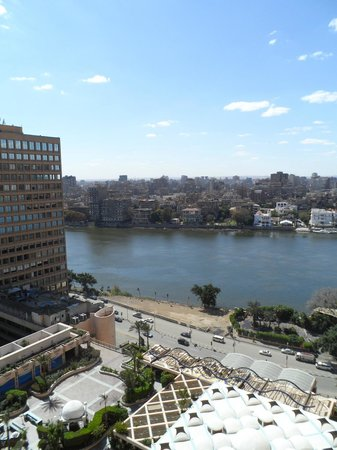 Conrad Cairo : View from our room's balcony