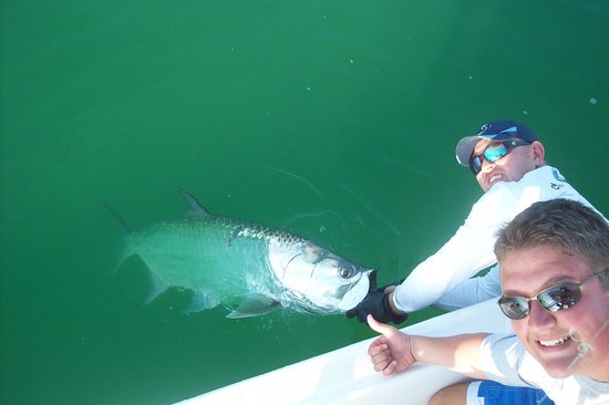 Steady Action Fishing Charters : First Tarpon