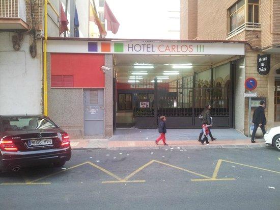 Carlos III Sercotel : ENTRADA HOTEL
