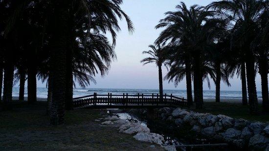 Marconfort Beach Club Hotel : På vår promenad väg till hotellet!
