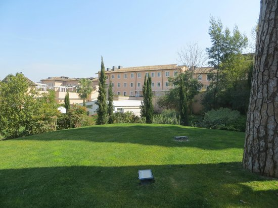 Gran Melia Rome: View from the Garden