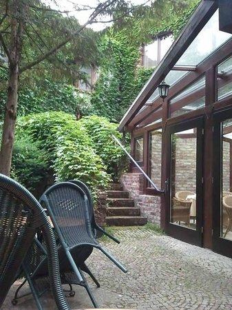 Hotel Land Gut Höhne : Uno dei giardini esterni
