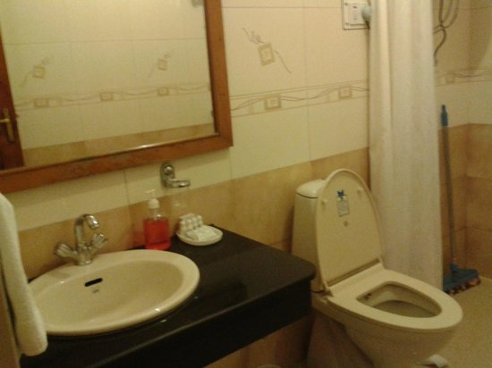 The Holiday Resorts Cottages & Spa : Washroom