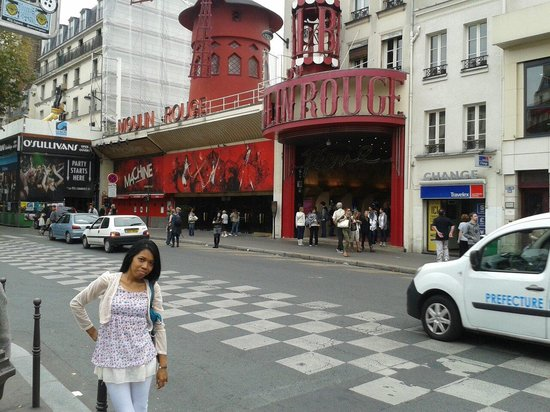 Moulin Rouge: Nice view^^