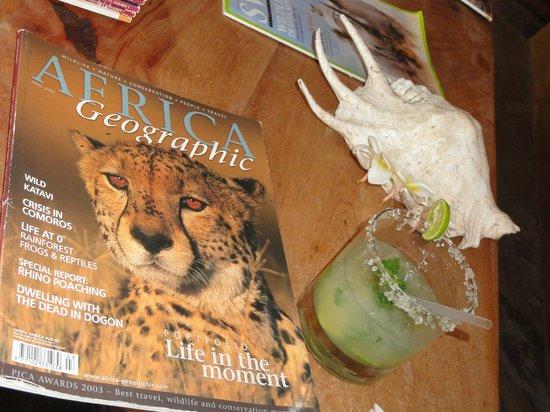 Mawimbi Lodge: alcool