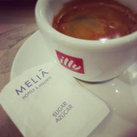 Melia White House : the coffee was not so good.  I expect illy coffee to tast the same everywhere.