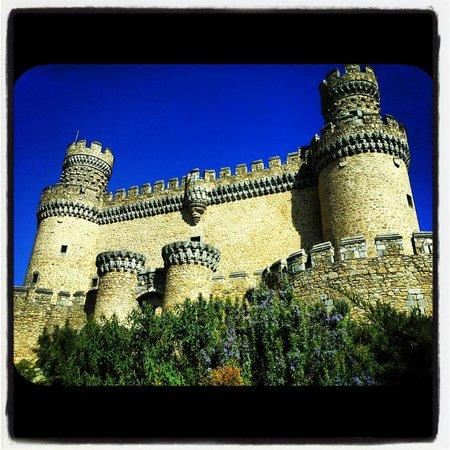 Castillo de los Mendoza (Castillo nuevo de Manzanares El Real): Castillo de los Mendoza