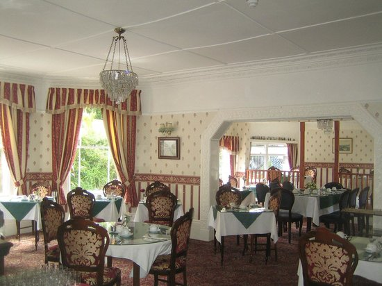 The Roseberry Hotel: dining room