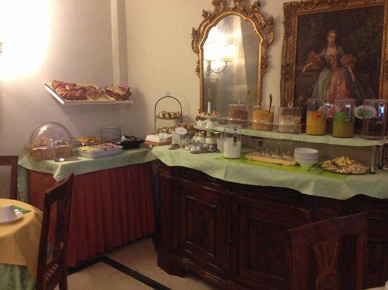Residenza Castiglioni : Café da manhã muito gostoso