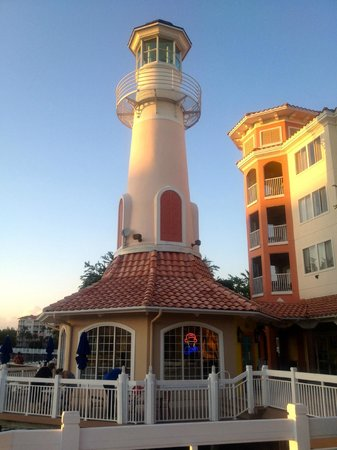 Marriott's Grande Vista: Lighthouse ice cream shop