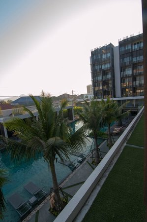 G Hua Hin Resort & Mall : pool view from our room