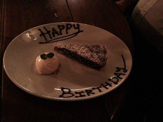 Hotel du Vin & Bistro: Birthday treat