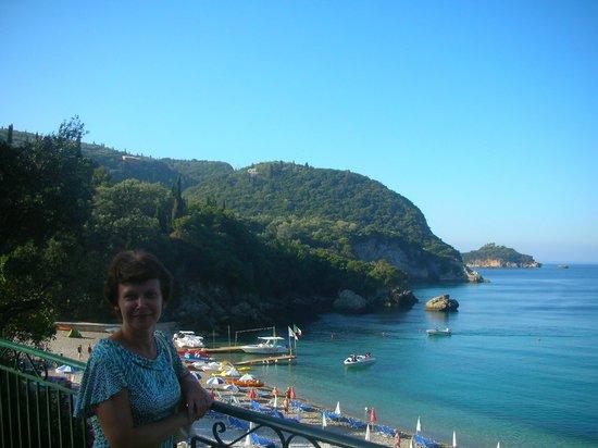 Liapades Beach Hotel: Пляж