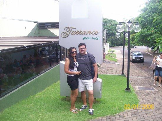 Turrance Green Hotel: área frente do hotel