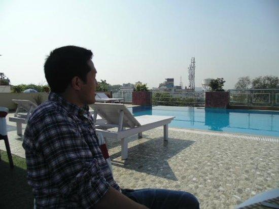 Hotel Atulyaa Taj: not to miss the pool