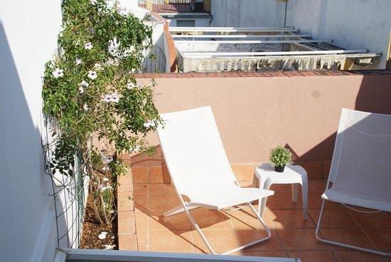 San Marcos Apartamentos: Terraza