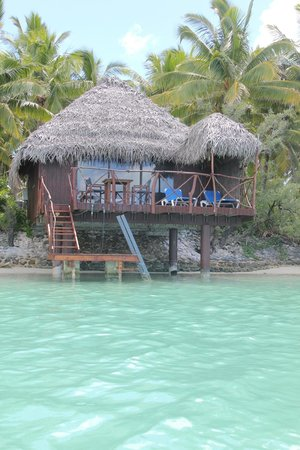Aitutaki Lagoon Resort & Spa: Overwater bungalow