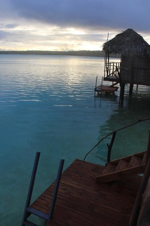 Aitutaki Lagoon Resort & Spa : More sunset