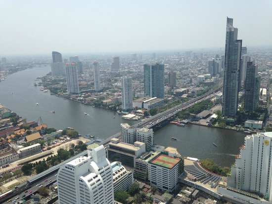 Tower Club at Lebua : River view from room 5906