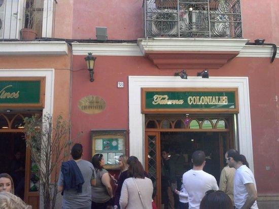 Taberna Coloniales II: esterno