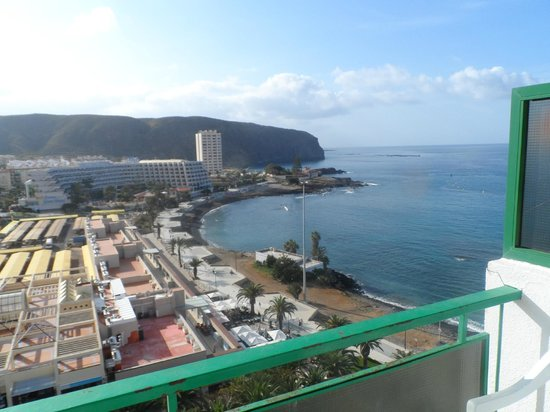 Comodoro Apartments: view from balcony