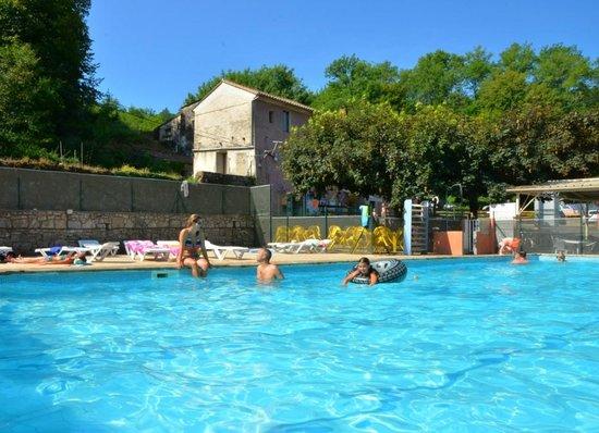 Le Vigan, Frankrike: Vue de La piscine