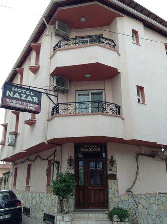 Hotel Nazar: Hotel Entrance