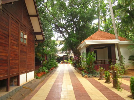 Rajapark Beach Resort: Hotel