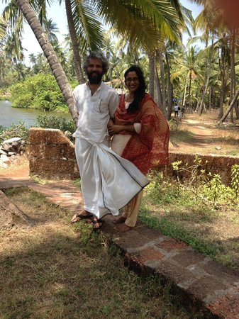 Kannur Beach House: Nazir and Rosi, the owners and hosts.