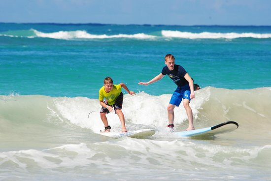 Punta Cana Surf Adventure: After about 1/2 hr