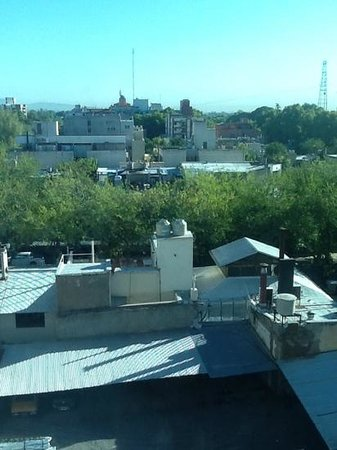 Diplomatic Hotel: foto do nosso quarto no 4 andar