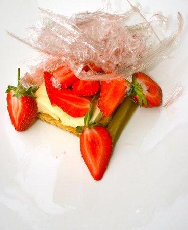 Le Vivier: dessert incroyable en sucre!