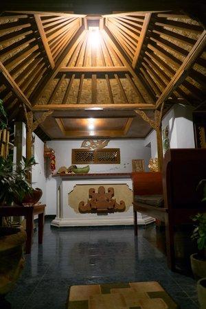 Geria Giri Shanti Bungalows: Réception