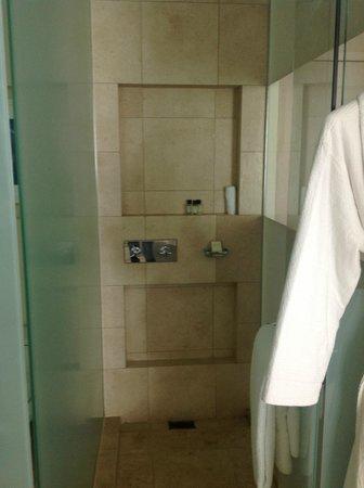 Trump International Hotel & Tower Panama: shower