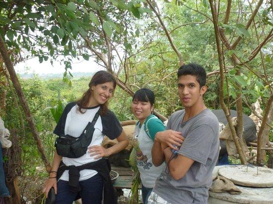 Rana : Visiting villagers