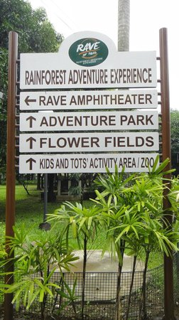Rainforest Park: Directional Signs