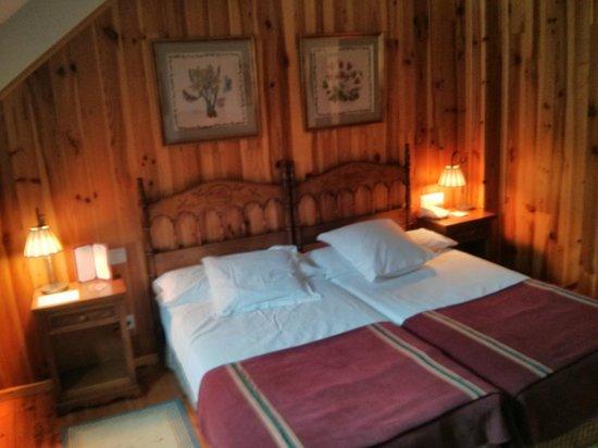 Parador de Bielsa: Cama doble - 2 camas unidas