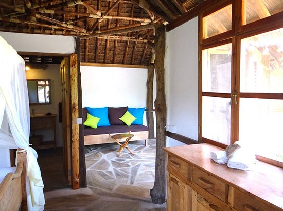 Tembo Kijani EcoLodge: The Bungalows Have A Bathroom, Sleeping Room, Living  Room And Part 95